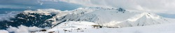 The Gulmarg Ski Area is a large hilltop area. Popular places to ski in Kashmir