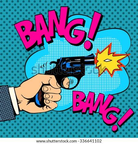 the gunshots gangster murder...