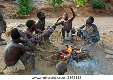 The Hadzabe tribesmen in Tanzania are amongs the last hunter-gatherers