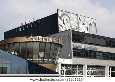 the Hague ,Netherlands-april 8, 2015: The Lucent Dance Theatre is home to the Dutch dance partnership Dance Theatre