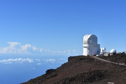 the Haleakala High Altitude Observatory Site  first astronomical research observatory on the island of Maui Hawaii
