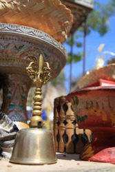 the hallmark of Bali with meditation tools that are often used pedande