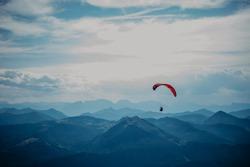 the hang-glider