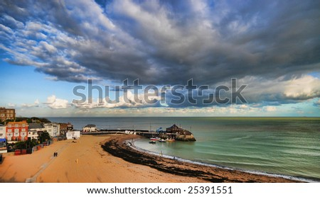 The Harbour at Broadstairs.