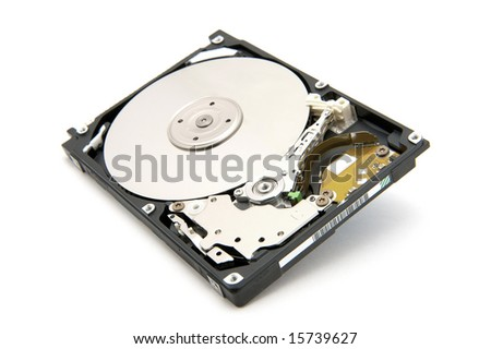 the hard disk of 2.5 inches for the computer
