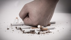 the harm of smoking, the fight against nicotine addiction.