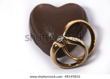 The Heart A Symbol Of Love And Rings A Symbol Of ...