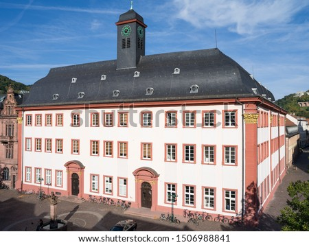 The Heidelberg university is the oldest university in Germany and was founded in the year 1386