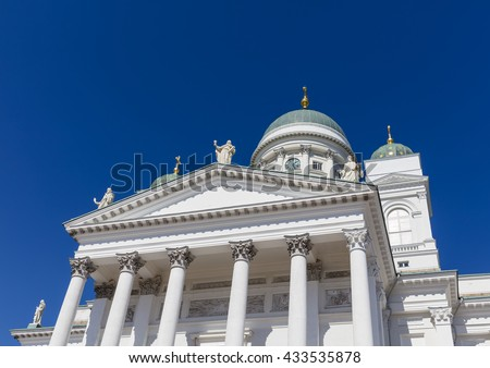 The Helsinki cathedral #433535878
