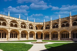 The Hieronymites Monastery, Mosteiro dos Jeronimos is located in Lisbon Portugal. Considered the most prominent monument of Lisbon and has been classified by UNESCO as a World Heritage Site.