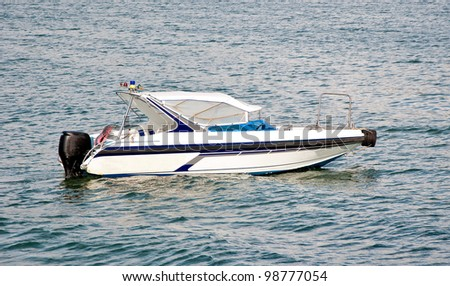The High Speed boat