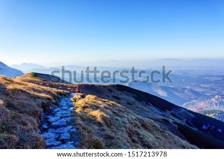 The High Tatras Mountains (Vysoké Tatry, Tatry Wysokie, Magas-Tátra), are a mountain range along the border of Slovakia in the Prešov Region, and southern Poland in the Lesser Poland Voivodeship. #1517213978