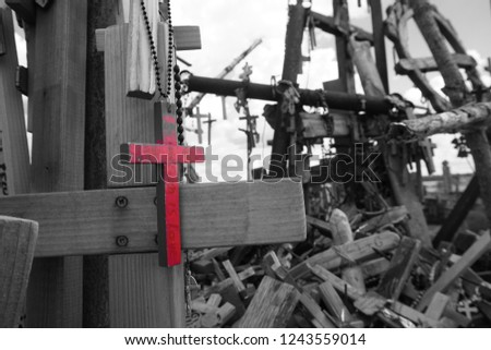 The hill of the crosses, Lithuania #1243559014