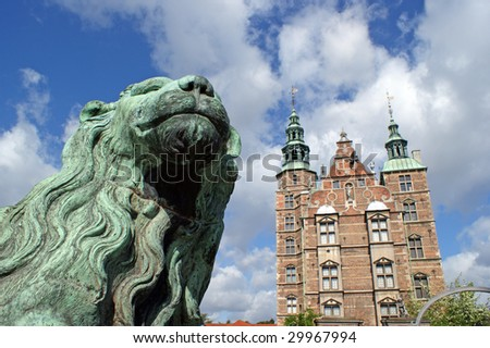 The historic building Rosenborg Castle which also is a museum with some national treasures such as the Crown Jewels