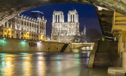The historic Catholic cathedral Notre Dame is considered as one of the finest examples of French Gothic architecture, and it is among the largest and most well-known church buildings in the world.