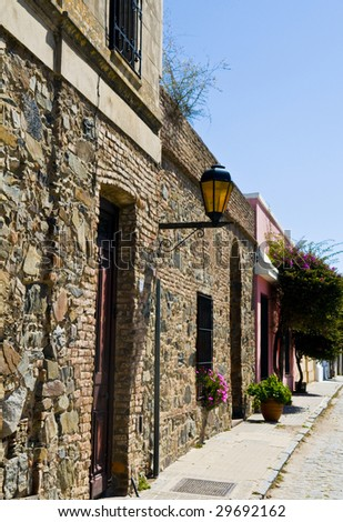"The Historic Quarter of the City of ""Colonia del Sacramento"" in Uruguay an ""Unesco world heritage"" site"