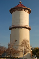 The Historic Water Tower in Fresno, California