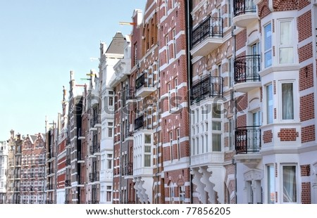 The historical canal houses of amsterdam