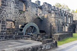 The historical ruins of Balaclava, Mauritius, Indian Ocean, Africa