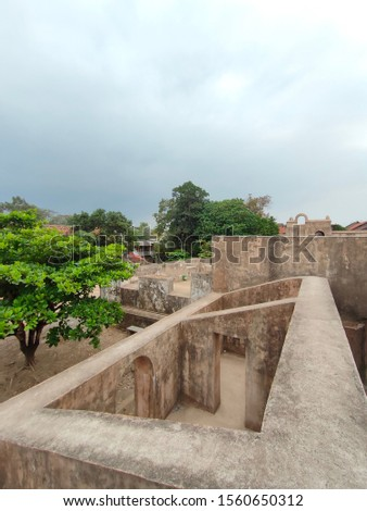 The historical site of Warungboto, Yogyakarta, Indonesia