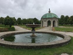 The Hofgarten (Court Garden) is a garden in the center of Munich, Germany