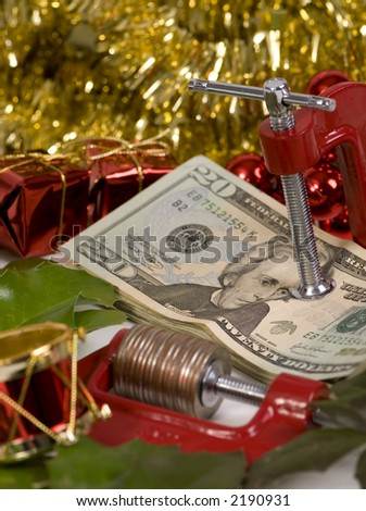 The holidays always put a squeeze on you money #2190931