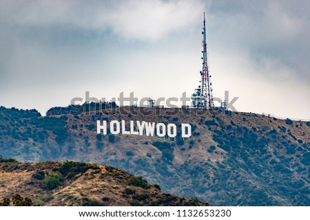 The Hollywood Sign #1132653230