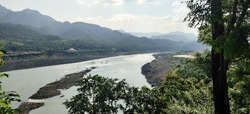 The holy Narmada River, a lifeline for many Indians.