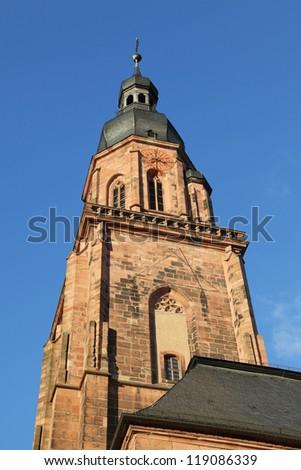 the holy spirit church of Heidelberg, Germany
