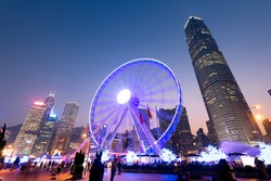 The Hong Kong Observation Wheel.