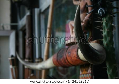 The horns of the bull #1424182217