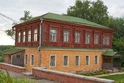 The House for the clergy near Ryazan Kremlin. Built in 1910s.