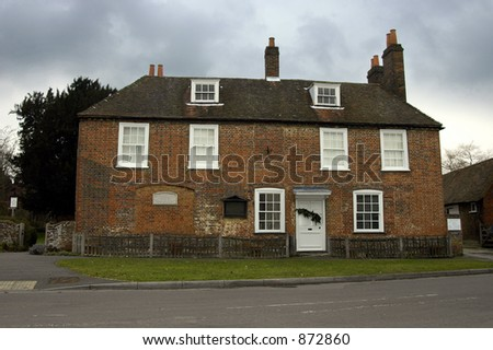 The house in Chawton, Hampshire where Jane Austen spent the last 8 years of her life