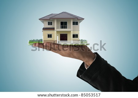 The House in the human hands