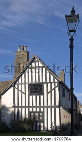 The house in which Oliver Cromwell once lived in Ely, Cambridgeshire. Now a museum.