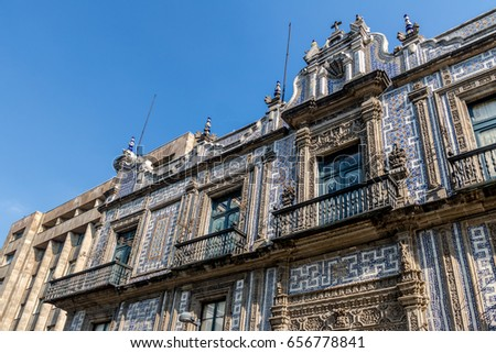 Shutterstock The House of Tiles (Casa de los Azulejos) - Mexico City, Mexico