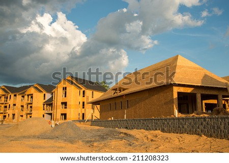The housing market is increasing with the development of new houses and condominiums in rural areas as well as the suburbs.