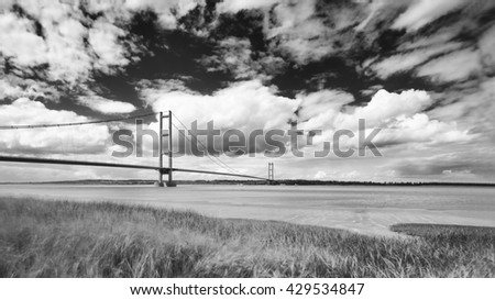The Humber Bridge Suspension Bridge #429534847