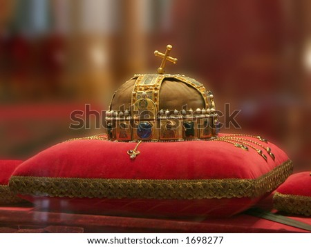 The hungarian crown