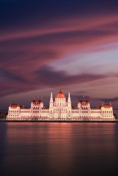 The Hungarian Parliament - Budapest. The Parliament is the highlight of some incredible architecture the city has to offer. A cruise at the Danube River at night is no short of a fairytale ride.