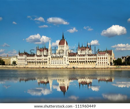 The Hungarian Parliament Building is the seat of the National Assembly of Hungary, one of Europe's oldest legislative buildings. World Heritage Site by UNESCO