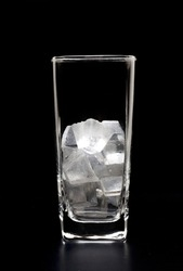 The ice in the glass black backgrounds