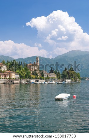 the idyllic Village of Tremezzo at Lake Como in italian Lake District,Italy