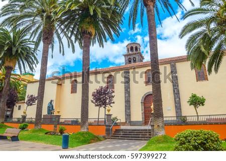 Shutterstock The Iglesia-Parroquia Matriz de Nuestra Senora de La Concepcion or Church of the Immaculate Conception in La Laguna, Tenefife, Spain.
