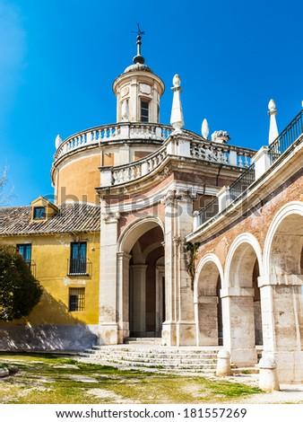 The Iglesia Real de San Antonio. Royal Church of San Antonio, Aranjuez, Spain
