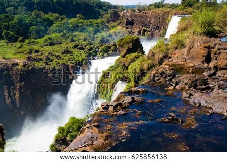 The Iguazu falls #625856138
