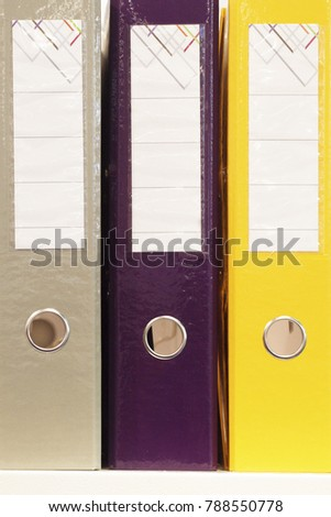 The image of folders #788550778