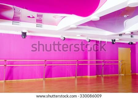 The image of  interior of the dance studio