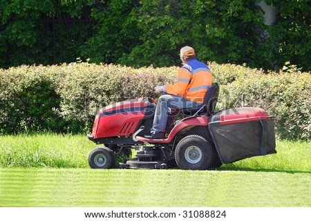the image of mow the lawn #31088824