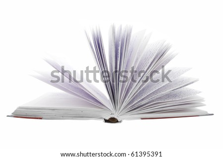 The image of notebook white the cursive in it - stock photo